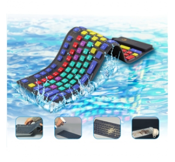 Waterproof Flexible Kid Keyboard
