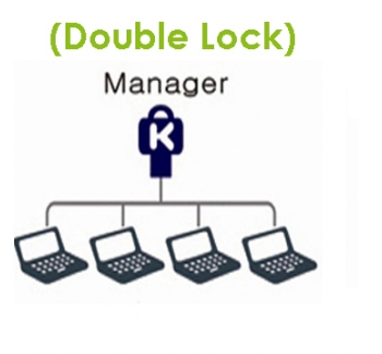 Notebook Double Lock - Supervisor-Only Access