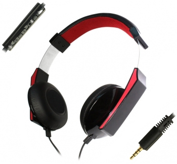 Deluxe Headphone with Mic and Single Connector