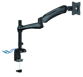 Counterbalance LCD VESA Desk Mount With USB3.0 Port