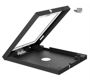 Wall Mount Anti-Theft Enclosure for iPad with Lock and key
