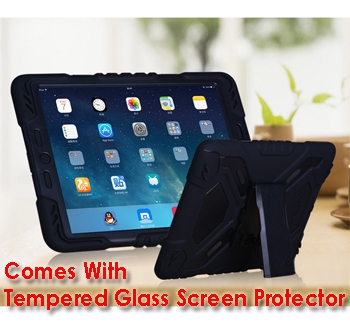 iPad Mini 4 Tough Case and Glass Screen Protector Combo