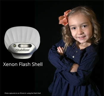 Xenon Flash Shell for iPhone/iPad