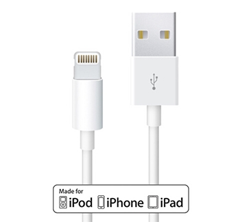 USB Charging / Sync Cable for Latest iDevices, 1M - MFI